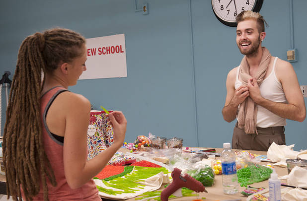 Alicia Hardesty and Gunnar Deatherage have to make it work in an all-new episode of Project Runway