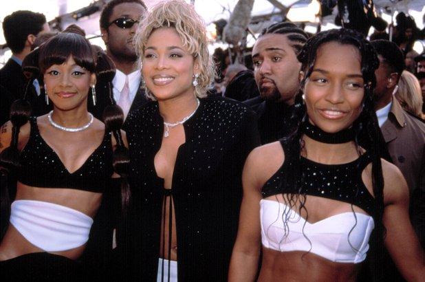 TLC: Rozonda 'Chili' Thomas, Tionne 'T Boz' Watkins, and Lisa 'Left Eye' Lopes at the Grammy Awards, Los Angeles - 2002