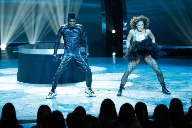 So You Think You Can Dance Season 9 - second live show: Cyrus Spencer and Eliana Girard