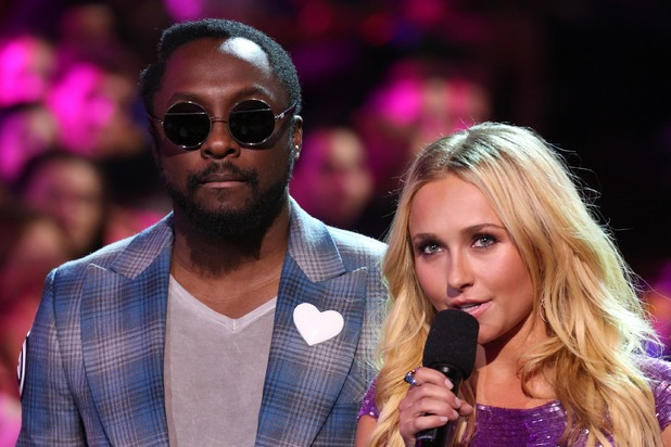 Hayden Panettiere and Will.i.am