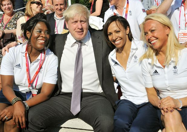 Boris in Athletes Village