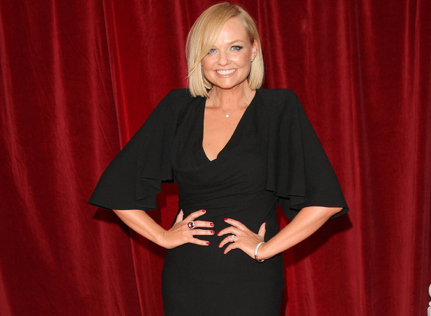 Miss Mode: Emma Bunton at British Soap Awards in 2012