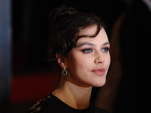 Jessica Brown Findlay arriving for the 2012 Orange British Academy Film Awards at the Royal Opera House, Bow Street, London. 