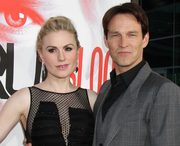 Anna Paquin, Stephen Moyer at the &#39;True Blood&#39; Season 5 premiere held at ArcLight Hollywood, in Hollywood, California - 30.05.12