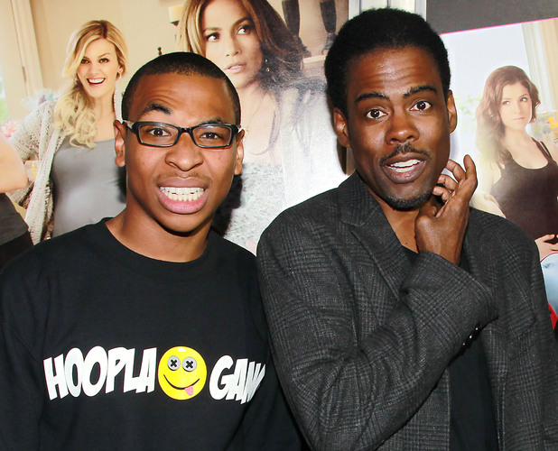 Comedians Deshawn Raw, Chris Rock and JP