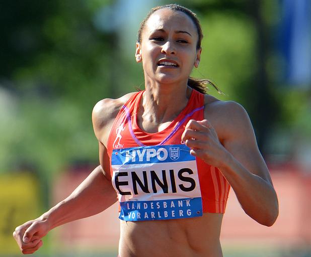 Great Britian's Jessica Ennis