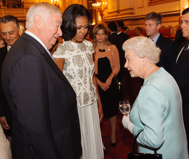 Queen Elizabeth II meets heads of state