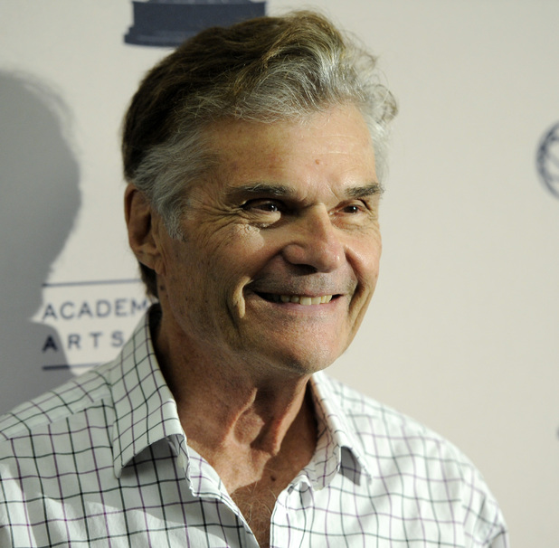 Actor Fred Willard poses at a cocktail reception for The Academy of Television Arts & Sciences' Performers Peer Group to celebrate the forthcoming 63rd Primetime Emmy Awards