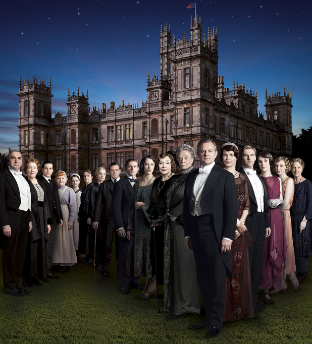 Downton Abbey Season 3 promotional image