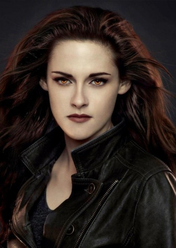 Kristen Stewart as Bella Cullen.