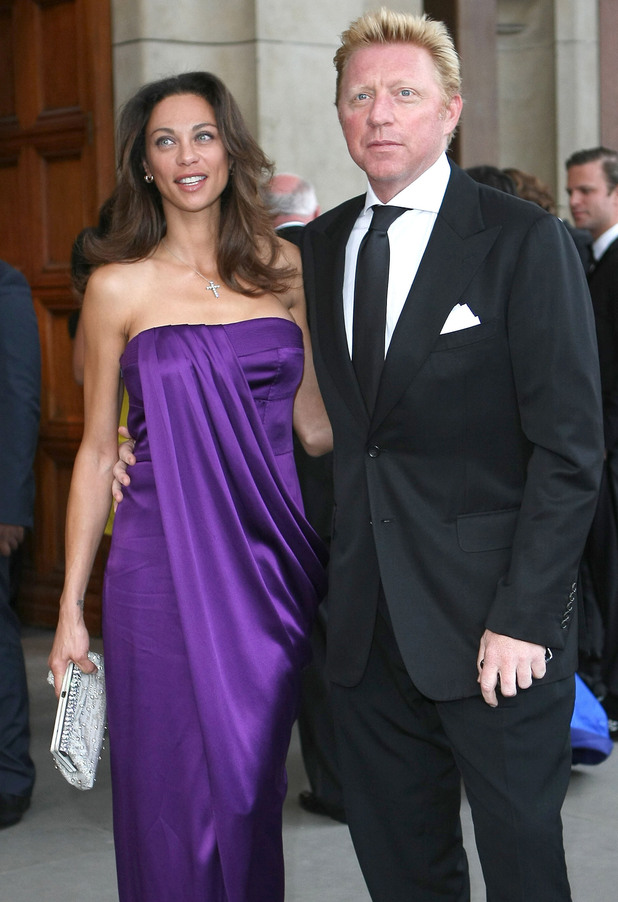 Boris Becker with beautiful, charming, Wife Lily Becker