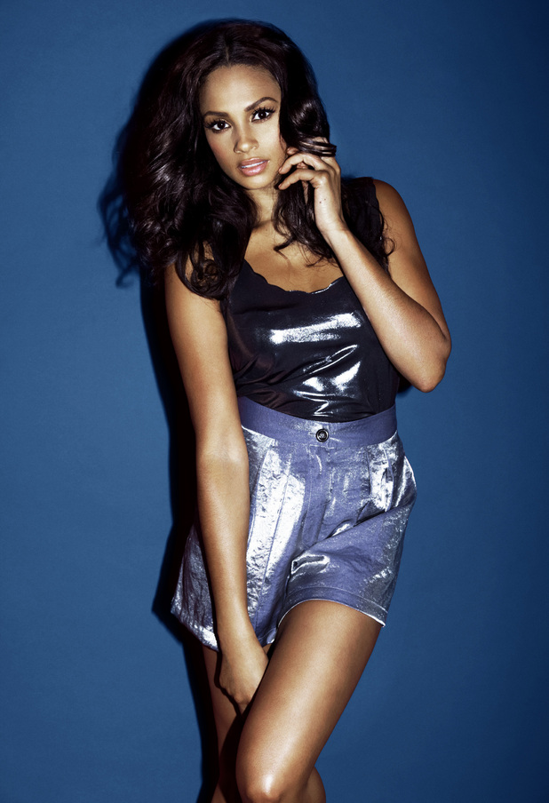 Alesha Dixon for Look magazine