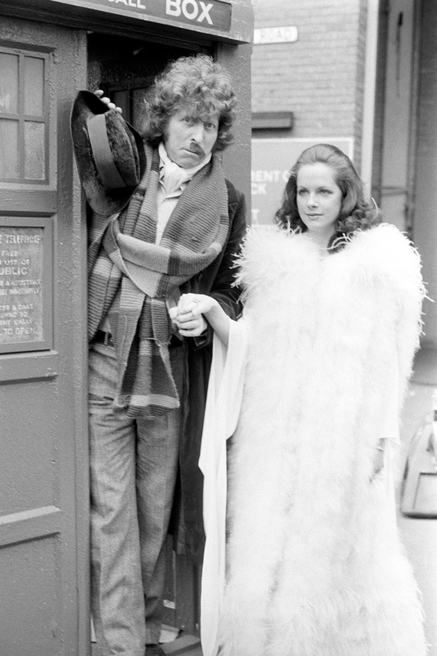 Mary Tamm and Tom Baker