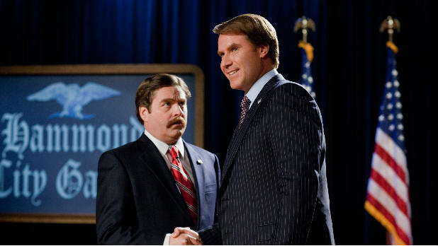 Will Ferrell and Zach Galifianakis face off in political comedy 'The Campaign'.