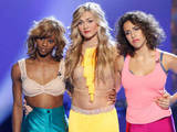 So You Think You Can Dance Season 9 - second live show: Eliminated contestant Amber Jackson and saved contestants Lindsay Arnold and Eliana Girard