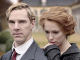 Parades End: Christopher (BENEDICT CUMBERBATCH), Sylvia (REBECCA HALL)