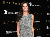 Demi Moore Bvlgari private event honoring Simon Fuller and Paul Haggis to benefit Save The Children and Artists For Peace and Justice - Red Carpet Arrivals Beverly Hills, California - 13.01.11 Mandatory Credit: FayesVision/WENN.com