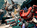 See the launch trailer for Transformers: Fall of Cybertron.