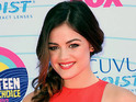 Lucy Hale admits to struggling with an eating disorder in the past.