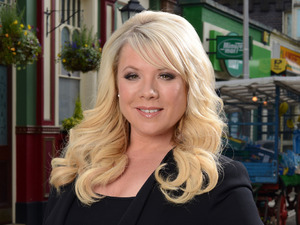 Letitia Dean as Sharon Watts in EastEnders