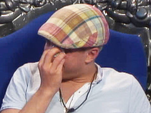 Big Brother 2012 - Day 56: Scott crying over Sara's mum's nomination