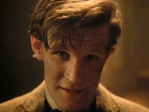 Matt Smith in 'Doctor Who' series 7 trailer screencap