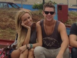 The Bachelorette stars Emily Maynard and Jef Holm arrive in Ghana to build wells