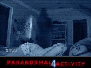 Poster for 'Paranormal Activity 4' movie