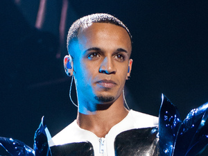 JLS singer Aston Merrygold, Nottingham Capital FM Arena, March 27, 2012