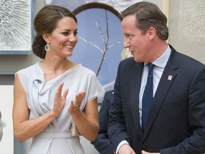 Duchess of Cambridge, David Cameron