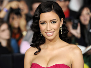 Christian Serratos arrives at the world premiere of &quot;The Twilight Saga: Breaking Dawn - Part 1&quot; in November 2011
