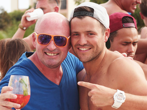 Mark Wright Hosts First Summer Spray Party at Ocean Beach Club Ibiza
