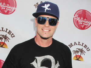 Vanilla Ice hosts a pool party in Las Vegas.