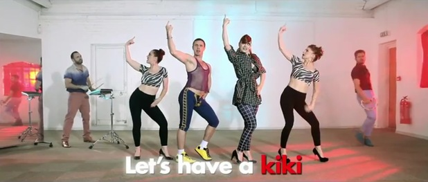 Scissor Sisters 'Let's Have A Kiki' music video
