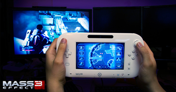 'Mass Effect 3' with Wii U GamePad