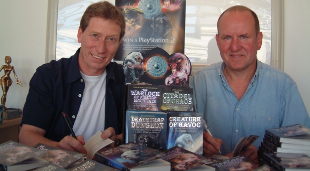Ian Livingstone and Steve Jackson Fighting Fantasy