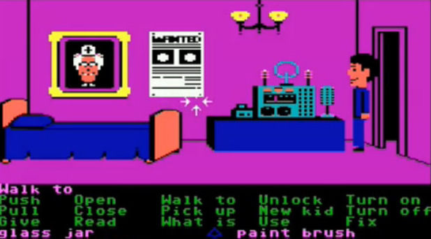 Maniac Mansion on Commodore 64
