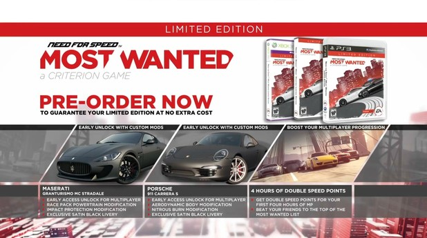 Need for Speed: Most Wanted Kinect