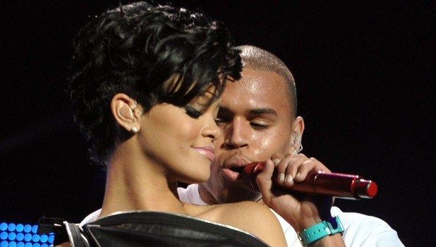 Rihanna and Chris Brown perform at Z100's Annual Jingle Ball Concert at Madison Square Gardens in New York City, USA 12.12.08 Credit: (Mandatory): WENN.com