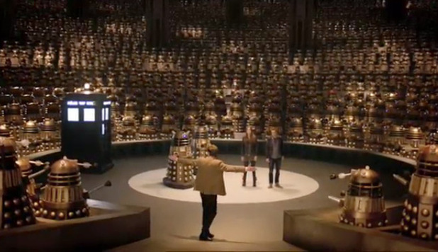 Doctor Who Series 7 trailer: Doctor & Daleks