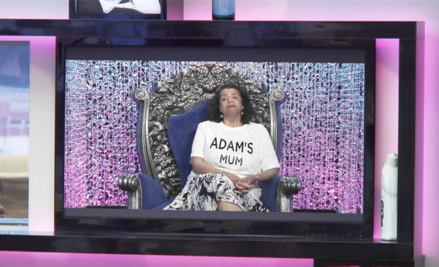 Adam's mum in nominations