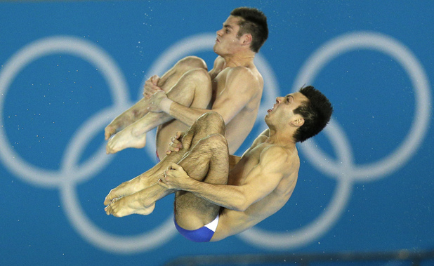Nicholas McCrory and David Boudia