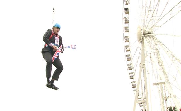Boris zipwire