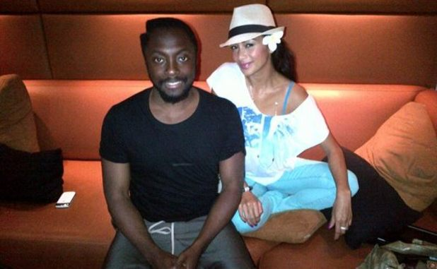 will.i.am and Nicole Sherzinger