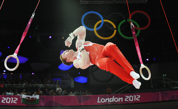 Daniel Purvis, 2012 London Olympic Games, Gymnastics