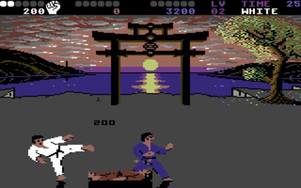 International Karate + on Commodore 64