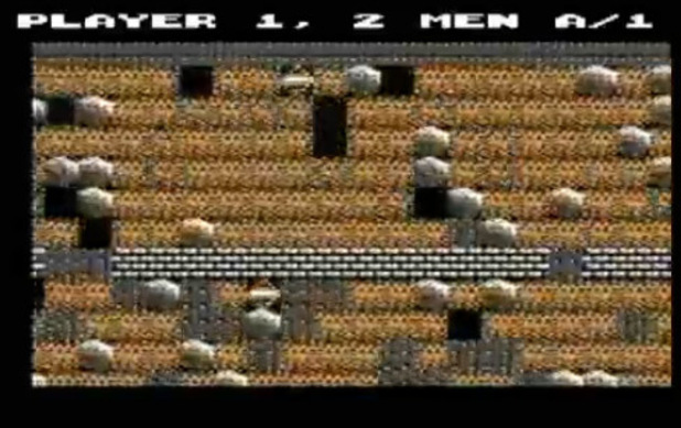 Boulder Dash on Commodore 64