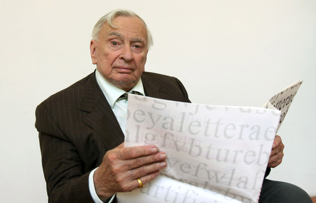 Gore Vidal pictured in 2006