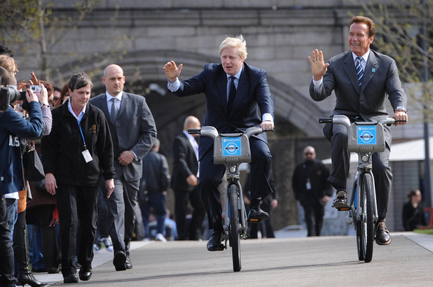 Arnold Schwarzenegger, Boris Johnson