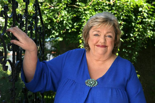 Author Maeve Binchy, who has died aged 72, as photographed in July 2007.